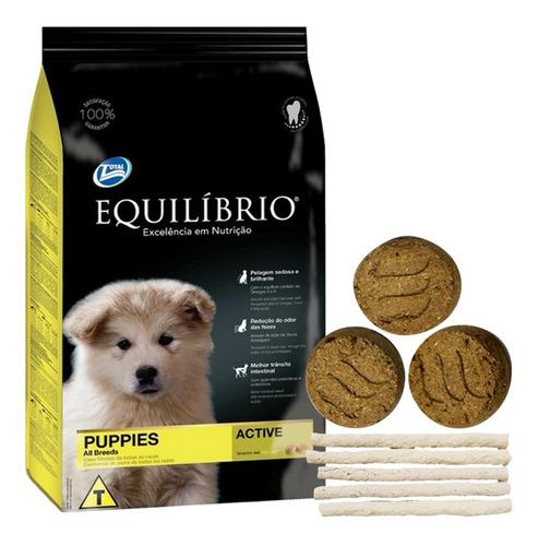 Imagen 1 de 2 de Comida Equilibrio Perro Cachorro 18 Kg + Envío Gratis