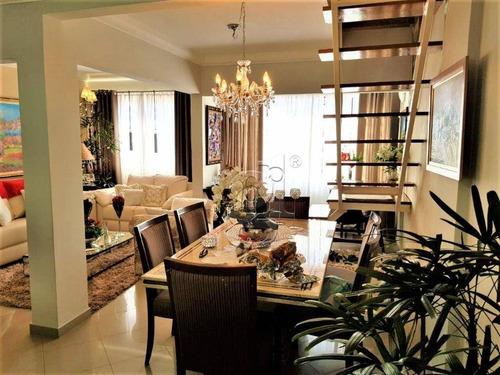 Imagem 1 de 17 de Apartamento Triplex Com 3 Dormitórios À Venda, 255 M² Por R$ 650.000,00 - Vila Ipiranga - Londrina/pr - At0004
