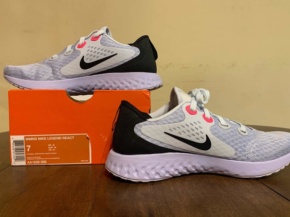 Nike Legend React Mujer Talle 37 Us 7