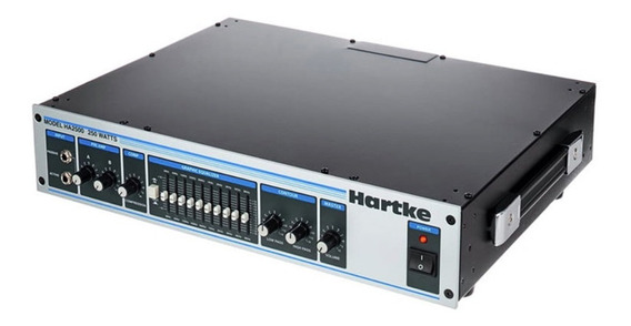 Cabezal Bajo Hartke Ha2500 + Caja 4.5xl 400 W 4x10 + Cable