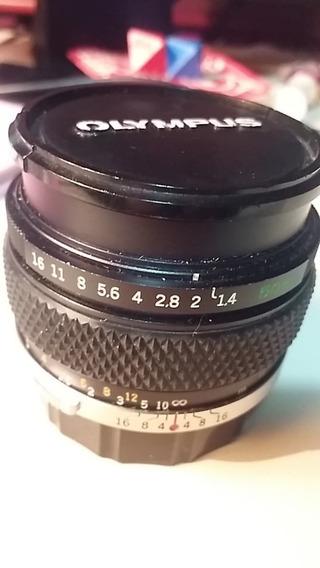 Lente Olympus Om-system G. Zuiko Auto-s 50mm 1:1.4