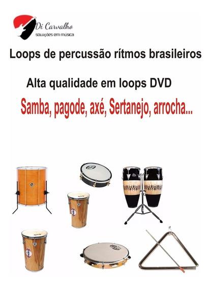 Loops De Percussão E Bateria Em Rítmos Brasileiros