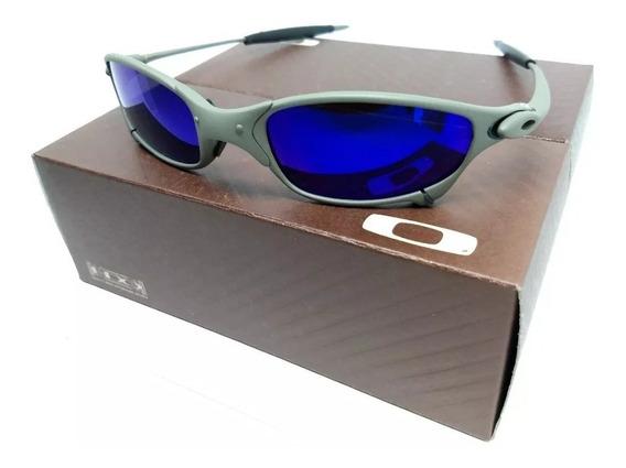 Ocullos Oakley Juliet Penny Double X Mars 24k Azul Promoçâo