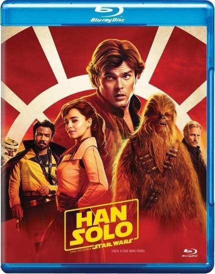 Blu-ray : Han Solo Uma História Star Wars - Original Novo