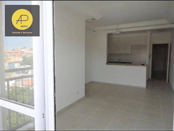 Apartamento Com 3 Dormitórios Para Alugar, 80 M² - Mogi Moderno - Mogi Das Cruzes/sp - Ap0252
