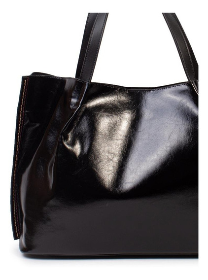Cartera Shopper Negra Isadora