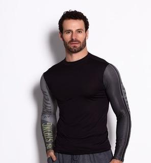 Camiseta Térmica De Ciclismo Ciclistas Proteção Uva Uvb