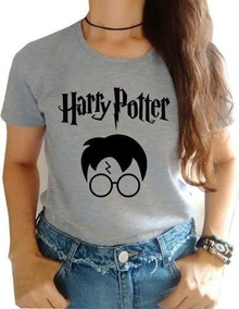 Camiseta Baby Look Harry Potter 100% Algodão