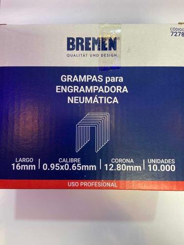 Imagen 1 de 2 de Grampa Engrampadora Neumatica Bremen 7278 12,8x16mm Ionlux