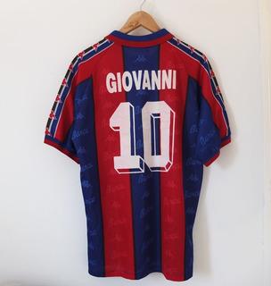 Camisa Barcelona 1996-1997 Giovanni O Messias