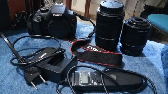 Câmera Canon T5 Kit Premium Estado De Nova