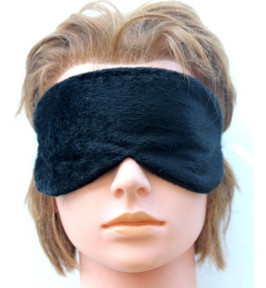 Mascara Preta Viseira Viagem Dormir Tapa Olho