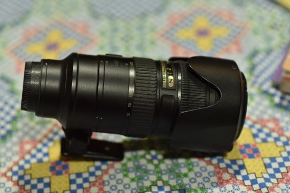 Abaixou P Vender Lent Nikon F/af-s 70-200mm F/2.8g Ed Vr Ii