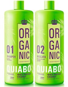 Escova Progressiva De Quiabo Organic Fioperfeitto 2x1000ml