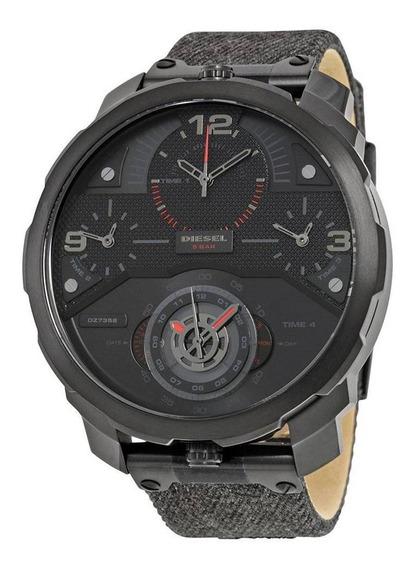 Relógio Diesel Masculino Esportivo Machine Dz7358/0pn