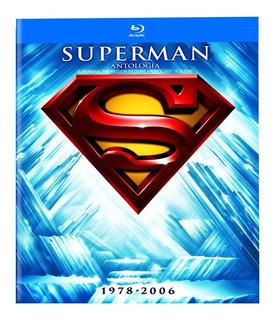 Superman Antología 1978-2006 Blu Ray