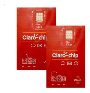 Chip Claro 4g Pré-pago,qualquer Ddd C/ R$ 10 Credito