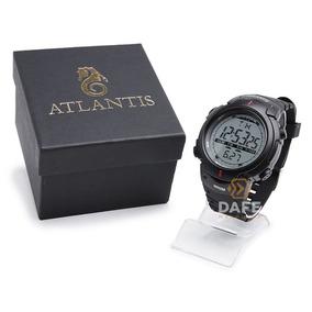 Relógio Atlantis Masculino 7330g Original C/ Garantia E Nf