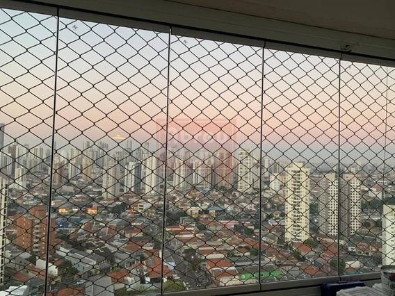 Mooca - Vila Bertioga - Apartamento Com 2 Dotmitorios ( 1 Suite ) Área Útil De 62 M² + 2 Vagas De Garagem Fixas - 1087