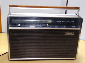 Radio Philco Ford Solid State 9 Band Am Fm Transglobe Ler