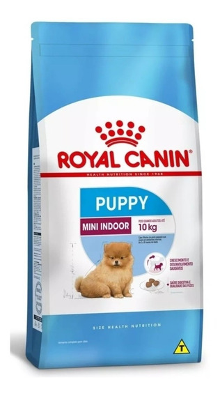 Ração Royal Canin Puppy Mini Indoor Filhote 1 Kg