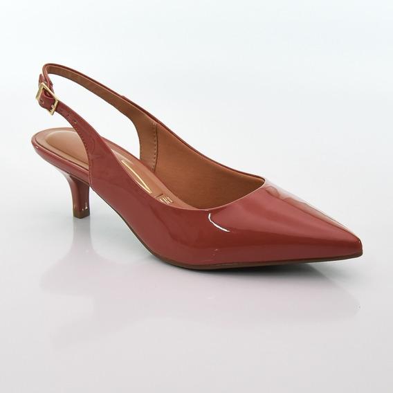 Sapato Chanel De Nulce Verniz Blush Vizzano 1122.806