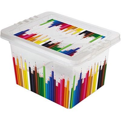Caixa Organizadora Pequena 2,3l Lápis Or18c São Bernardo