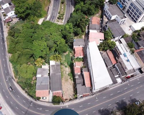 Vendo Terreno No Cabula, 928 M², R$ 800.000,00 Escriturado. - J1104 - 68909281