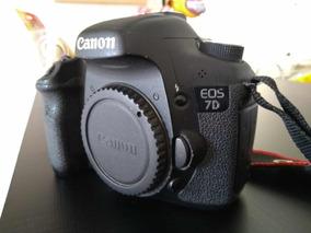 Câmera Canon 7d + Bateria + Carregador