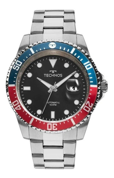 Relógio Technos Masculino Automático Skymaster 8205nz/1p