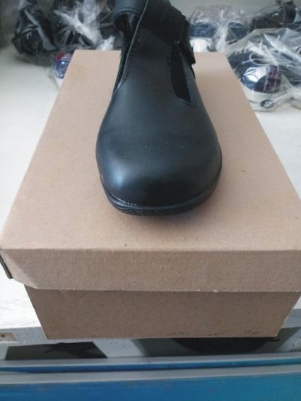 Zapato De Dama Negro 35