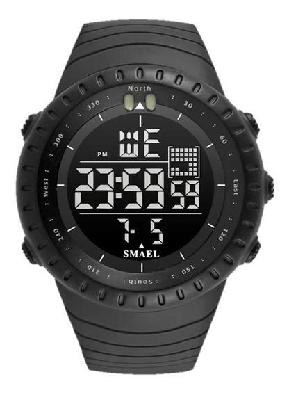 Relógio Masculino Smael 1237 Militar À Prova D