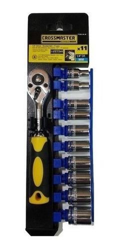 Set Juego De Tubos Crossmaster 1/4  11 Piezas 5-14mm
