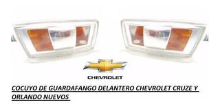 Cocuyo De Guardafango Delantero Chevrolet Cruze Y Orlando