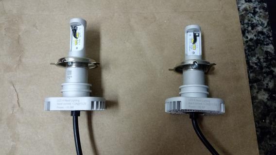Lâmpada Led Philips Ultinon Farol H4 6200k