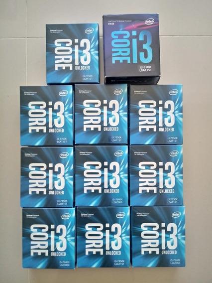 Lote De Caixas De Processador Intel I3 Vazias