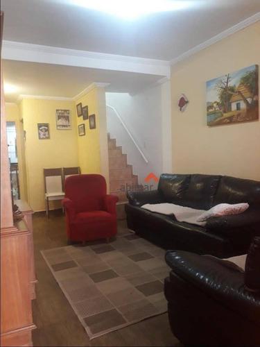 Sobrado Com 4 Dormitórios À Venda, 126 M² Por R$ 440.000,00 - Jardim Pedro Gonçalves - Taboão Da Serra/sp - So0259