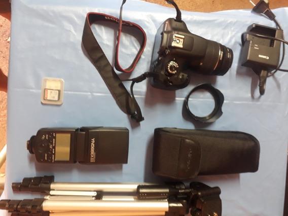 Canon T4i Com 2 Lentes E Flash