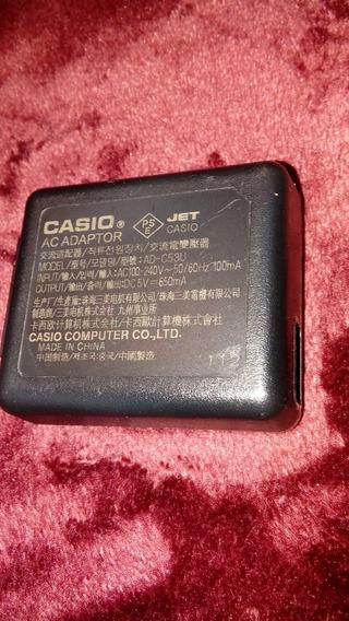 Adaptador Ac Usb Casio Ad C53u P/ Ex Zs5 Ex Z3000 Ex Tr100