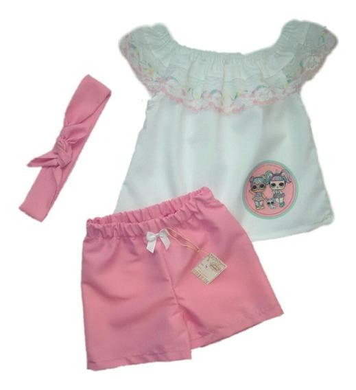 Conjuntos Para Niñas Peppa Pig Lol Surprise Minnie Frozen