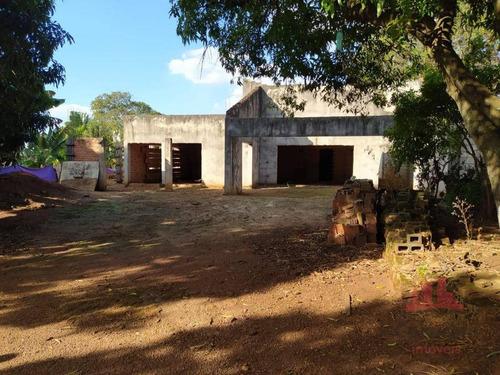 Chácara Com 3 Dormitórios À Venda, 1000 M² Por R$ 475.000,00 - Parque Dos Pinheiros - Nova Odessa/sp - Ch0120