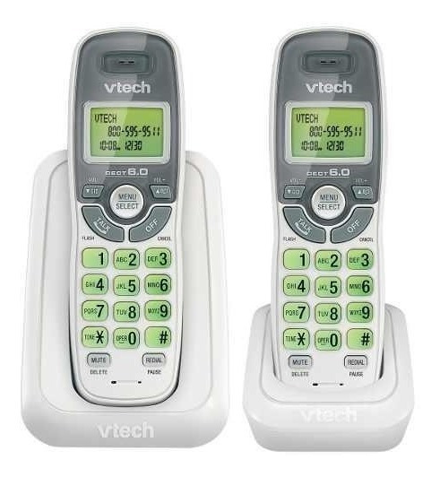Telefono Inalambrico Vtech Detec 6.0 Digital 1 Ext. Cs6114-2