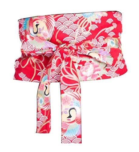 Kimono Para Mujer Kimono Yukata Obi Cinturón De Cintura
