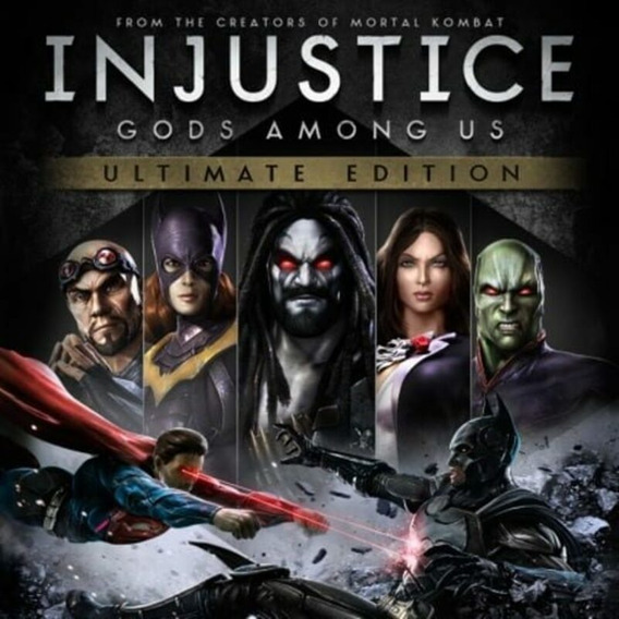 Injustice God Among Us Pc Steam Key Ptbr Código 15 Dígitos