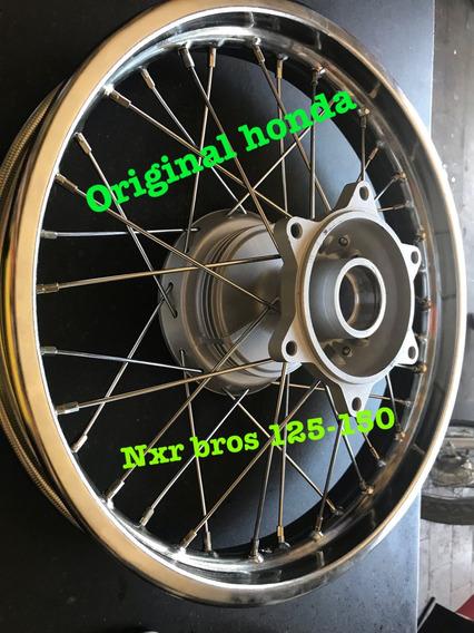 Roda Montada Moto Bros 125-150 Traseira Original