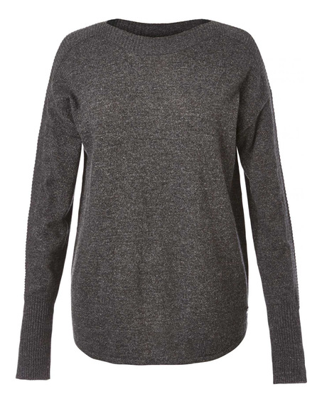 Sweater Mujer Highlands Pull Gris Royal Robbins By Doite
