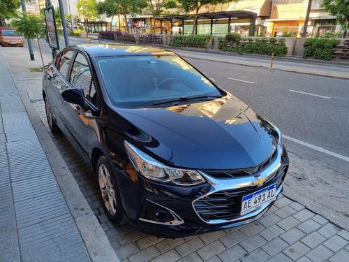 Chevrolet Cruze Lt Mt 4p Darkmoon Blue 2020 Igual A Nuevo