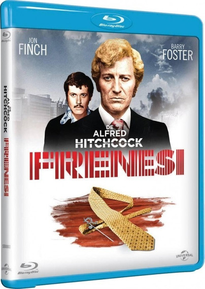 Blu Ray Frenesi Alfred Hitchcock - Original (lacrado)