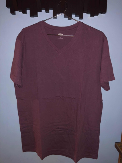 Remera Bordo Old Navy Original Talle L
