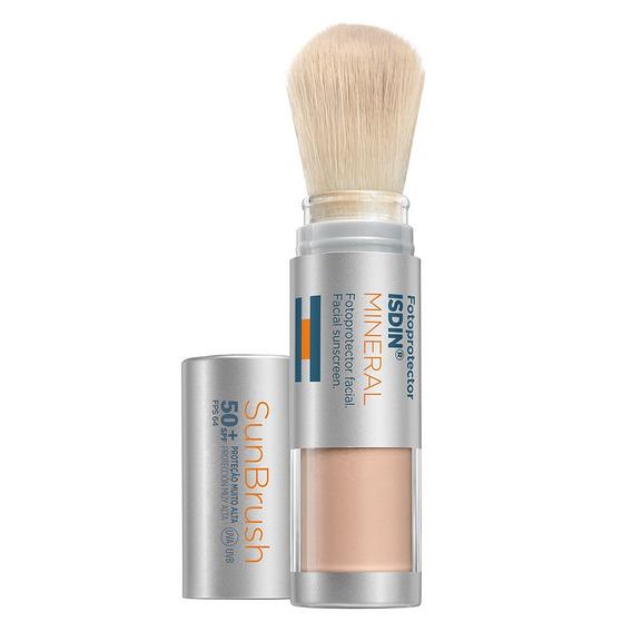 Protetor Solar Facial Isdin - Sunbrush Mineral 50+ 4g